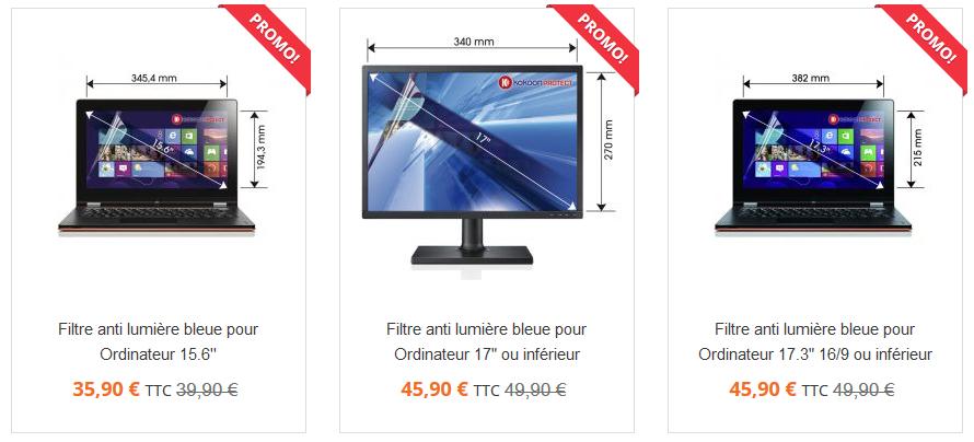 Votre filtre-écran PC anti lumière bleue BlueCat Screen en promo !